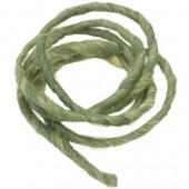 Wool rope, 2m, dark green