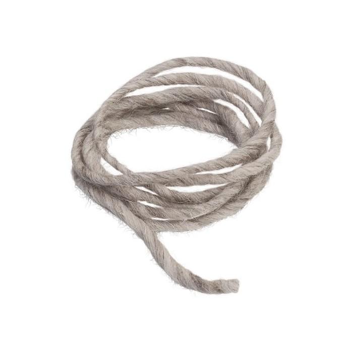 Cordon en laine 2m beige