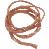 Wool rope, 2m, rust