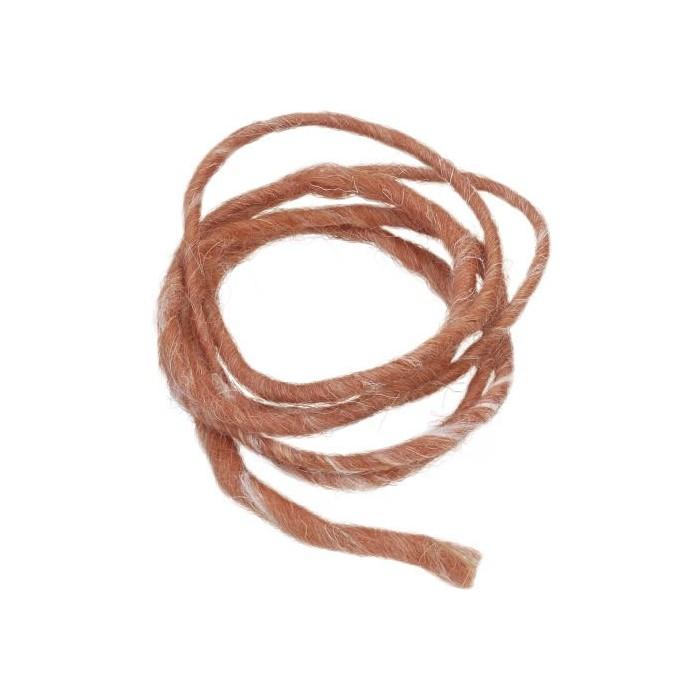 Wool rope, 2m, rust