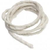 Cordon en laine 2m blanc