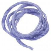 Cordon en laine 2m bleu