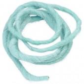 Cordon en laine 2m turquoise
