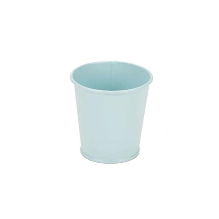 Metal Bucket blue