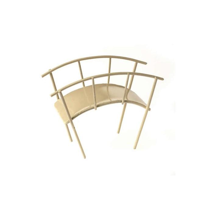 Pont en métal crème 10cm