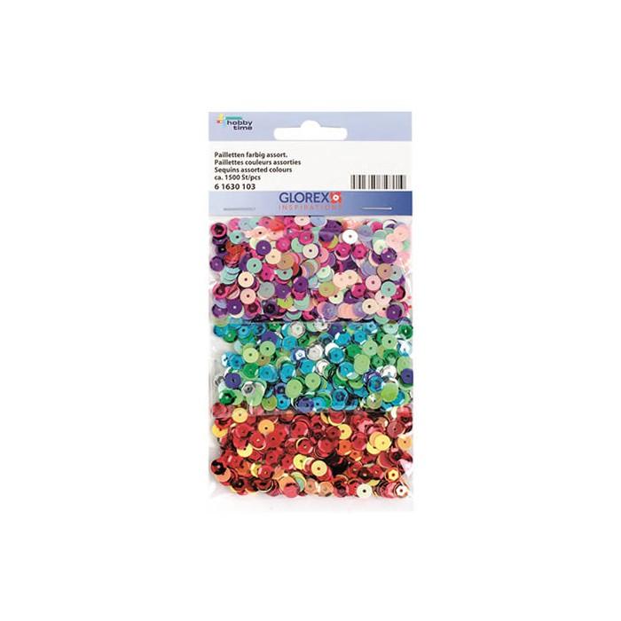 Sequins mix, 1500 pcs