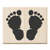 Tampon pieds de bébé
