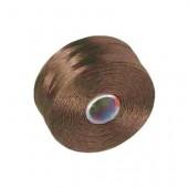 Nylon thread brown, 52m