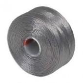 Nylon thread grey, 52m