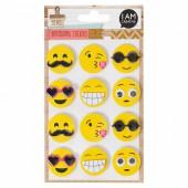 3D Stickers - Emojis
