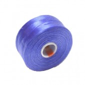 Fil nylon bleu, 52m