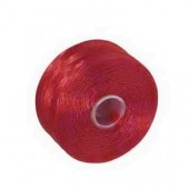 Nylon thread red, 52m