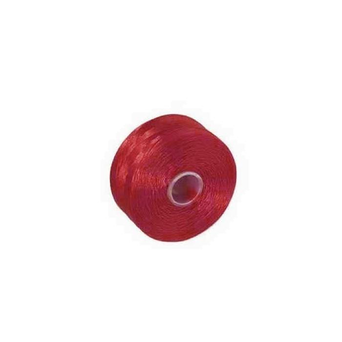 Fil nylon rouge, 52m