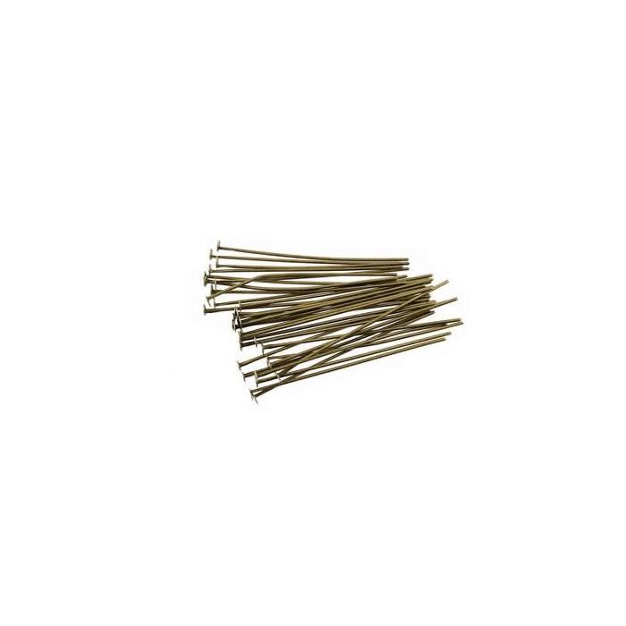 Chevilles à prisme 38mm, couleur cuivre, 20 pcs