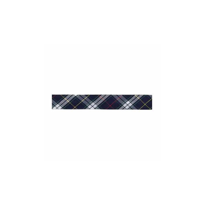 Biais écossais bleu, 18mm/1m