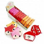 Fox sewing kit pink
