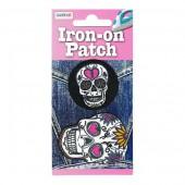 Iron-on motif Skull Ø35-50mm