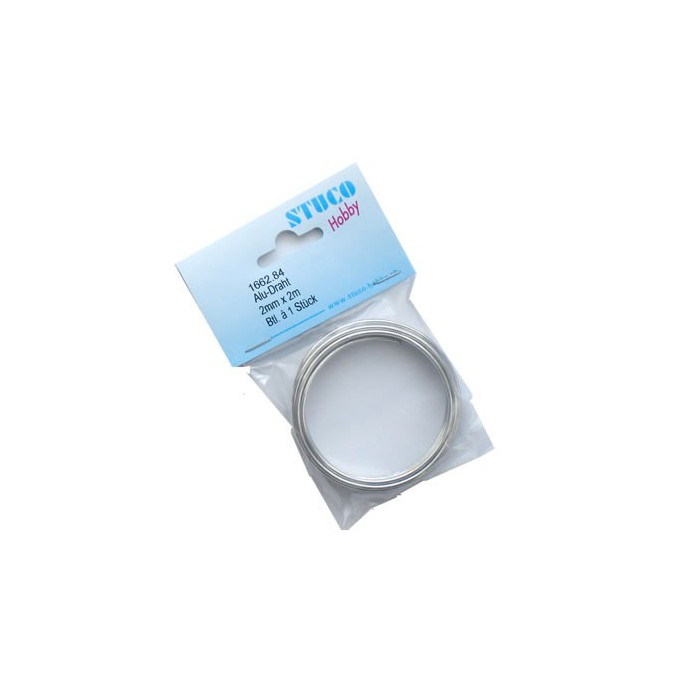 Fil aluminium Ø 2mm/5m