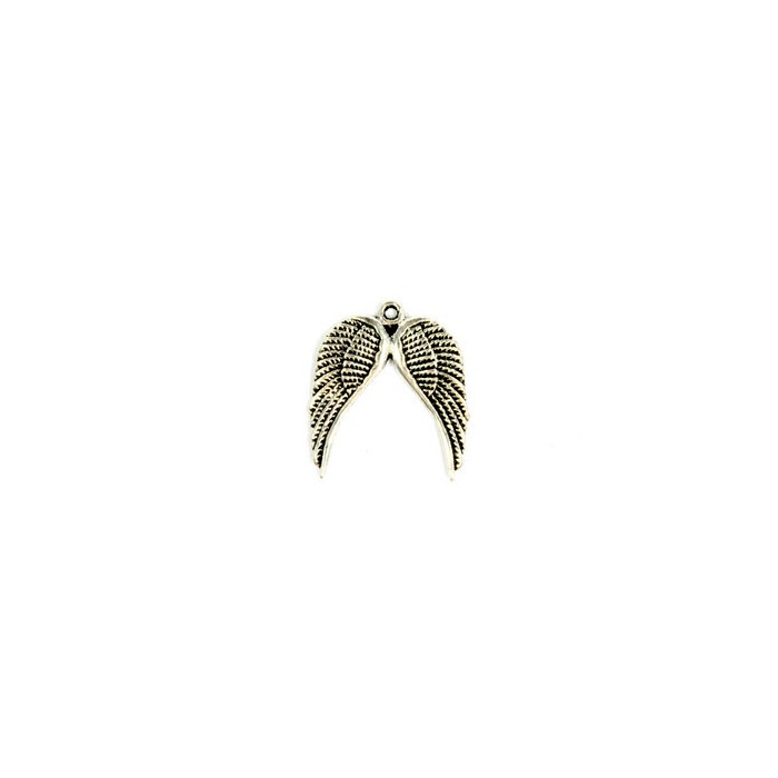 Pendentif ailes 20x18mm, 4 pcs