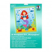 3D Rubber foam kit Mermaid