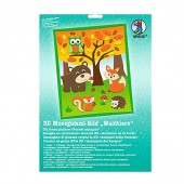 3D Rubber foam kit Forest animals