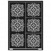 Stencil Tiles A5