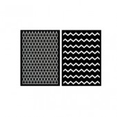 Haftschablone Graphic II, 2 Designs, A5
