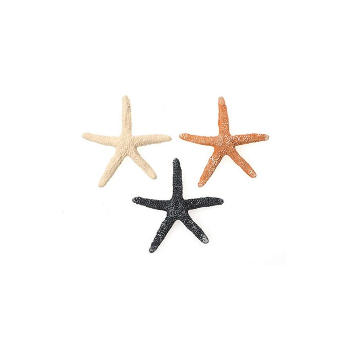 "Polyresin objects ""Starfish"", 60mm, 3 pcs"