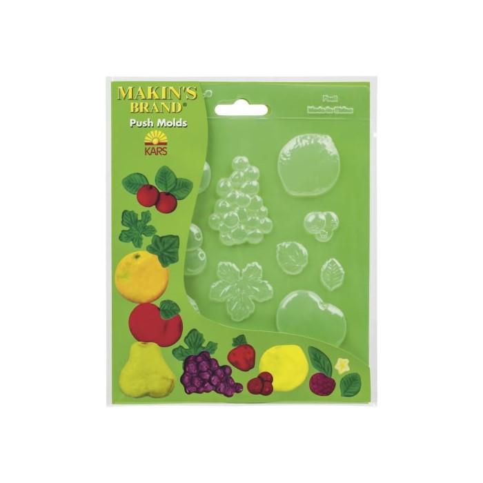 Makin's Push molds - Fruits