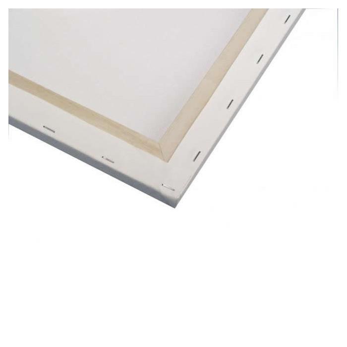 Toile à peindre 10x10cm
