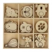 Elementos de madera : Adorable