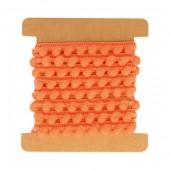 Cinta pompom, naranja, 1m