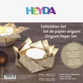Papier origami Lucia, doré, 30 feuilles