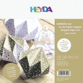 Origami Paper Crystal 40sheets gold