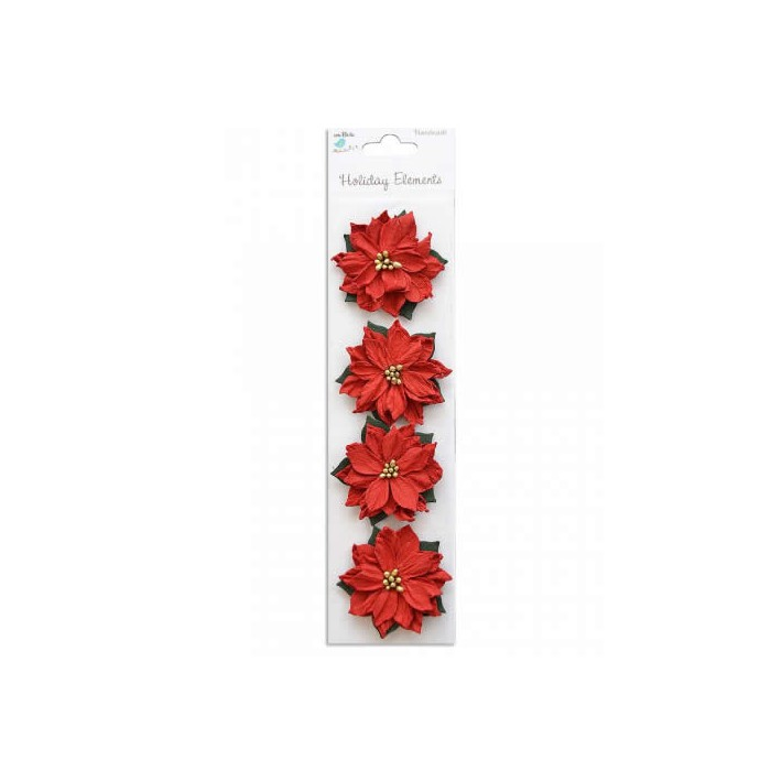 Christmas Flowers - Poinsettia