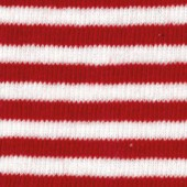 Cotton stretch tube 100x8cm, red/white stripes
