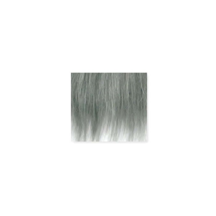 Synthetic fur, 25x35cm, grey