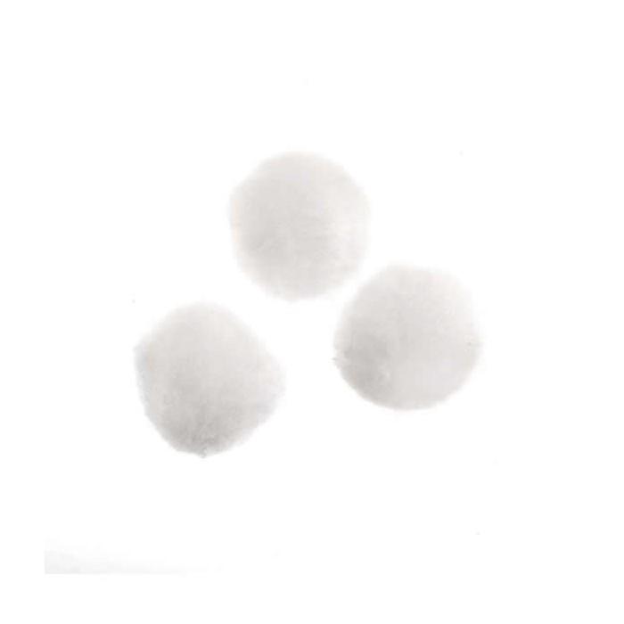 Boules de neige, 37mm, 12pcs