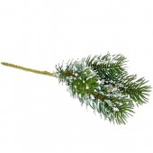Fir tree branch, 25cm, 1 pce