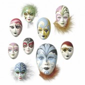 Mould mini masks 4-8cm