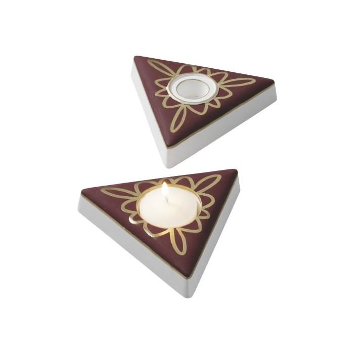Moule bougeoir triangle 11.5cm/300g