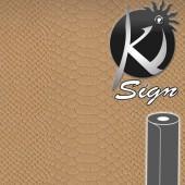 Ki-Sign Simili cuir caïman beige 45x66cm