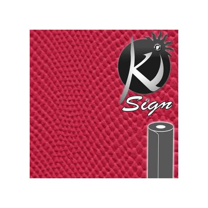 Ki-Sign Simili cuir iguane framboise 45x66cm
