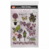 Clear stamps, spring