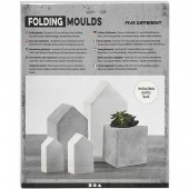 Folding moulds houses
