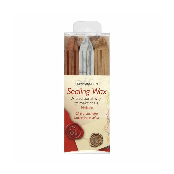 Sealing wax, gold, silver, bronce