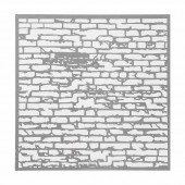 Schablone Wall 30.5x30.5cm