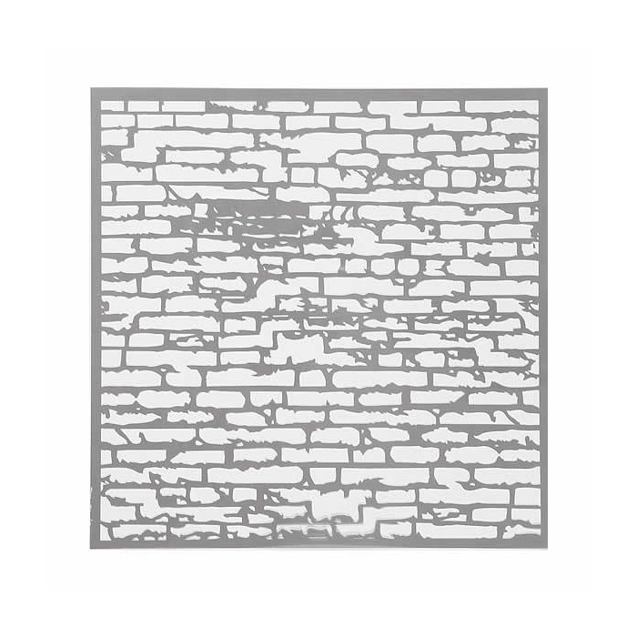 Pochoir Wall 30.5x30.5cm