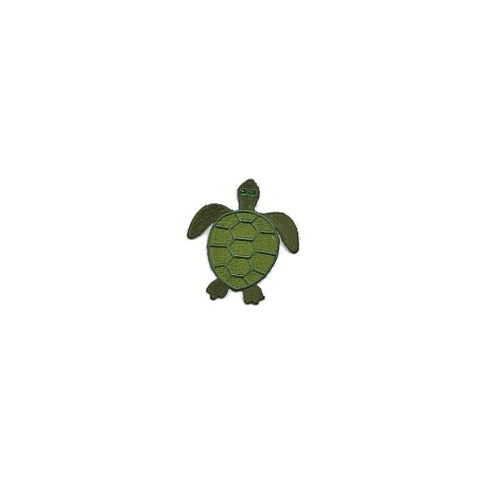 Motif à fixer au fer à repasser, 5.7x6.5cm, tortue