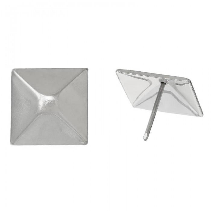 Clou de tapissier, carré, 29mm, 4 pcs